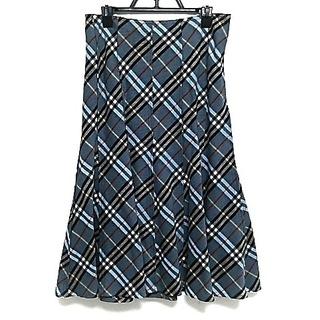 バーバリーブルーレーベル(BURBERRY BLUE LABEL)のバーバリーブルーレーベル ロングスカート(ロングスカート)