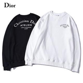 クリスチャンディオール(Christian Dior)の二枚9800円ディオールDiorロゴ プリント トレーナー長袖在庫あり806(トレーナー/スウェット)