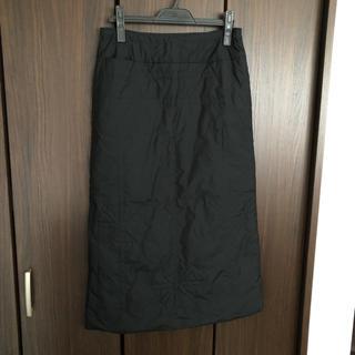 イッセイミヤケ(ISSEY MIYAKE)の美品イッセイミヤケHAATダウンスカート☆(ロングスカート)