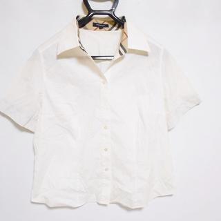 バーバリー(BURBERRY)のバーバリーロンドン 半袖シャツブラウス 15(シャツ/ブラウス(半袖/袖なし))