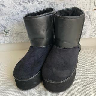 ムルーア(MURUA)のMURUA ムルーア ムートン ブーツ 厚底(ブーツ)