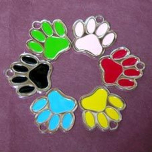 肉球型 迷子札 その他のペット用品(犬)の商品写真