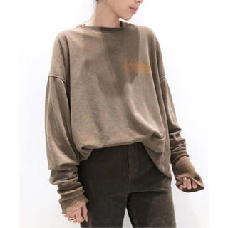 L'Appartement DEUXIEME CLASSE - アパルトモン別注REMI RELIEF/レミレリーフ Print L/S Tee