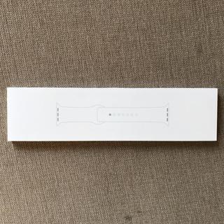 アップルウォッチ(Apple Watch)の純正  未開封 アップルウォッチ 40mmケース用ブラックスポーツバンド(その他)