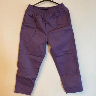 ユニクロ シェフパンツ 紫(ワークパンツ/カーゴパンツ)