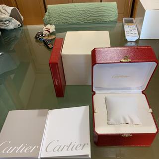 カルティエ(Cartier)のカルティエ ロードスタークロノグラフ 付属品のみ(腕時計(アナログ))