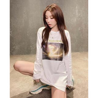 エイミーイストワール(eimy istoire)のeimy istoire tink sparkle ロングTシャツ(Tシャツ(長袖/七分))