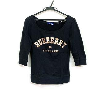 バーバリーブルーレーベル(BURBERRY BLUE LABEL)のバーバリーブルーレーベル トレーナー 38 M(トレーナー/スウェット)