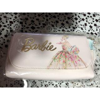 バービー(Barbie)のBarbie ミラー付きコスメポーチ(ポーチ)