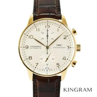 インターナショナルウォッチカンパニー(IWC)のインターナショナルウォッチカンパニー ポルトギーゼ クロノグラフ メンズ 腕時計(腕時計(アナログ))