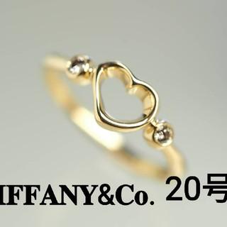 ティファニー(Tiffany & Co.)の質流れ品WF!TIFFANY&Co. ティファニー 20号 オープンハートリング(リング(指輪))