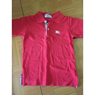 バーバリー(BURBERRY)の♡バーバリー2〜4歳用の赤ポロシャツ♡(Tシャツ)
