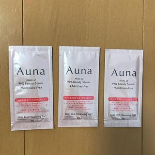 ロートセイヤク(ロート製薬)のロート製薬 Auna アウナマイルドホットクレンジングジェル サンプル(サンプル/トライアルキット)