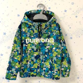 バートン(BURTON)のBURTON   ダイバー素材風パーカー 裏フリース 暖かい☆  3T 90(ジャケット/上着)