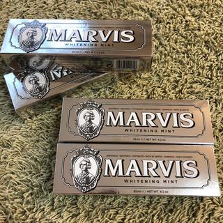 マービス(MARVIS)のMARVIS☆マービス☆ホワイトニングミント85ml4個セット(歯磨き粉)