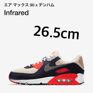 ナイキ(NIKE)のDENHAM × NIKE AIR MAX 90 INFRARED(スニーカー)