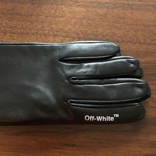 オフホワイト(OFF-WHITE)のoff-white ロンググローブ(手袋)