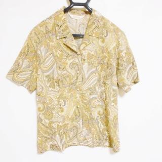 バーバリー(BURBERRY)のバーバリーズ 半袖シャツブラウス 9 M美品 (シャツ/ブラウス(半袖/袖なし))