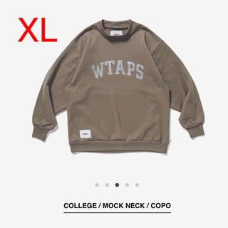 W)taps - WTAPS COLLEGE MOCK NECK COPO トレーナー