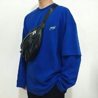 メゾンキツネ(MAISON KITSUNE')のADER ERROR2020 ロンT ロゴ(Tシャツ/カットソー(七分/長袖))