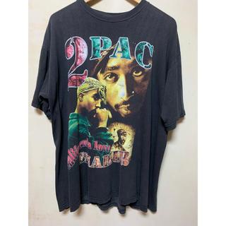 2pac vintage Tシャツ raptee(Tシャツ/カットソー(半袖/袖なし))