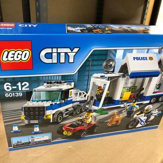 レゴ LEGO シティ ポリストラック指令本部 60139