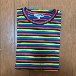 UNIQLO - JW ANDERSON × UNIQLO コラボ 松村北斗 ボーダーTシャツ
