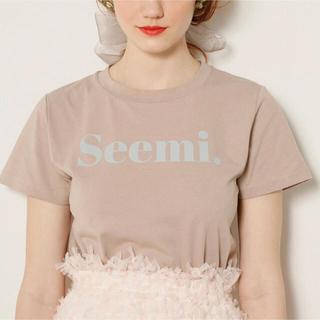 ワンアフターアナザーナイスクラップ(one after another NICE CLAUP)のseemi T(Tシャツ(半袖/袖なし))