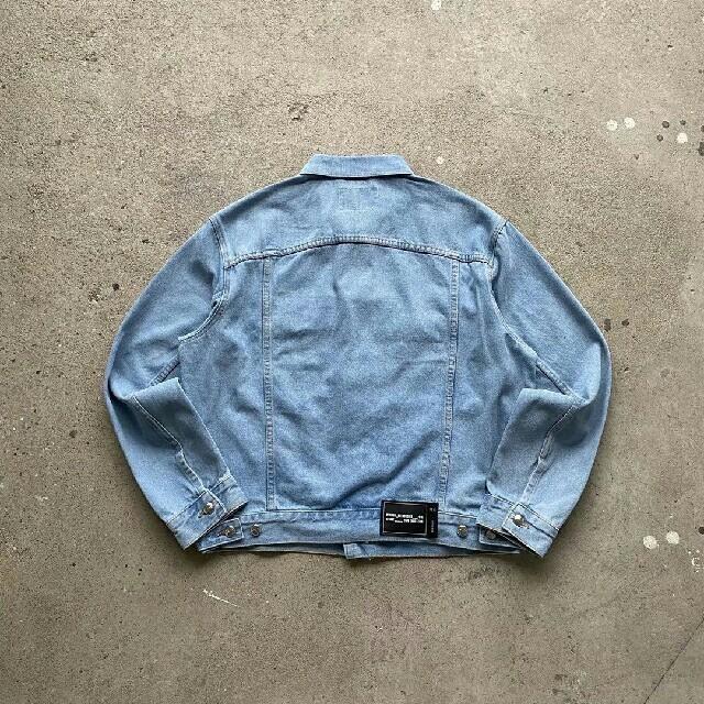 PEACEMINUSONE(ピースマイナスワン)の新品 WE11done 20AW デニムジャケット メンズのジャケット/アウター(Gジャン/デニムジャケット)の商品写真