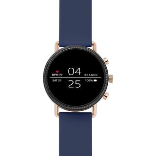 スカーゲン(SKAGEN)の【新品】スカーゲン スマートウォッチ SKT5110J 正規輸入品 ブルー(腕時計(デジタル))