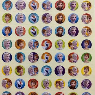 ディズニー(Disney)のご褒美シール アナと雪の女王 トイレトレーニング  小126枚(トレーニングパンツ)