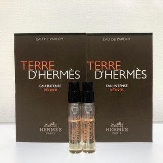 エルメス(Hermes)のエルメス テール ド エルメス オー インテンス ベチバー EDP 2ml *2(香水(男性用))