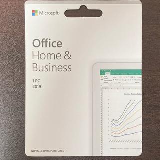 マイクロソフト(Microsoft)のOffice 2019 Home & Business for Windows(PCパーツ)