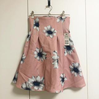 ミーア(MIIA)のMIIA * 花柄スカート(ひざ丈スカート)