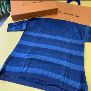 ルイヴィトン(LOUIS VUITTON)のLOUIS VUITTON シルクニット ギフトボックス入り(ニット/セーター)