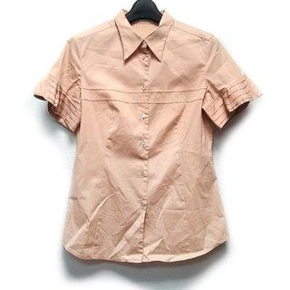 ミュウミュウ(miumiu)のミュウミュウ 半袖シャツブラウス 42 M -(シャツ/ブラウス(半袖/袖なし))