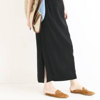 イエナ(IENA)のiena メランジ タイトスカート 38(ひざ丈スカート)