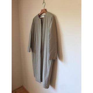 エヴァムエヴァ(evam eva)の2019AW evam eva  padding dolman longcoat(ロングコート)
