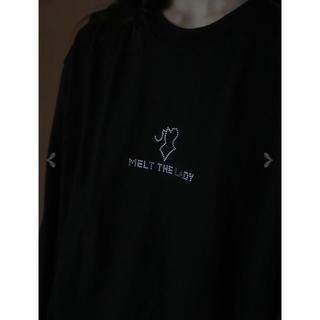 バブルス(Bubbles)のMELT THE LADY body stone long T-shirt (Tシャツ(長袖/七分))