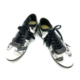 ドルチェアンドガッバーナ(DOLCE&GABBANA)のドルチェ&ガッバーナ D&G ドルガバ スニーカー 靴 ロゴ LOGO(スニーカー)
