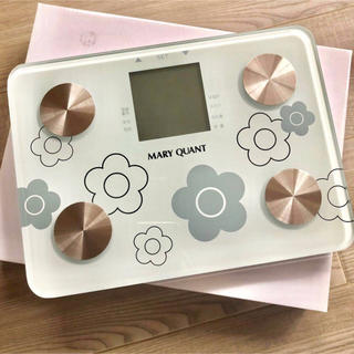 MARY QUANT - 新品 MARY QUANT☆MQスケール 体重計 マリークワント