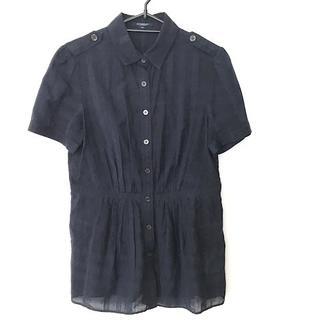 バーバリー(BURBERRY)のバーバリーロンドン 半袖シャツブラウス 40(シャツ/ブラウス(半袖/袖なし))