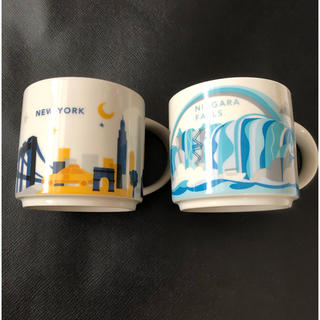 Starbucks Coffee - スターバックス マグカップ ニューヨーク ナイアガラの滝 アメリカ タリーズ