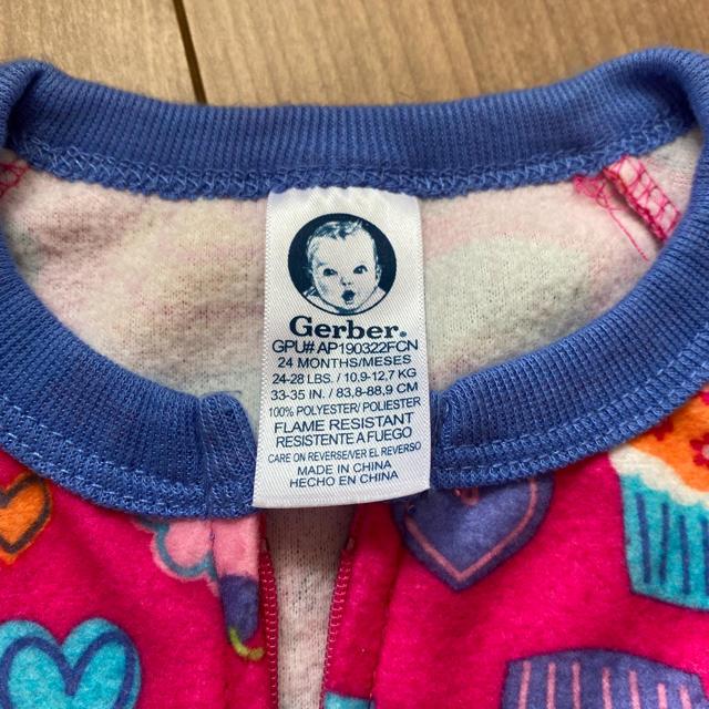 Gerber(ガーバー)のガーバーのカバーオール キッズ/ベビー/マタニティのキッズ服女の子用(90cm~)(その他)の商品写真