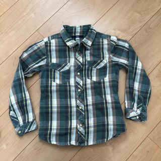 シップス(SHIPS)のチェックシャツ 120cm  SHIPS  男の子 長袖(ブラウス)