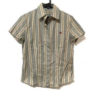 バーバリー(BURBERRY)のバーバリーロンドン 半袖シャツブラウス 38(シャツ/ブラウス(半袖/袖なし))