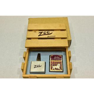 ジッポー(ZIPPO)のZippoライター 限定品(ライオン) 中古(オイル缶は未使用)(タバコグッズ)