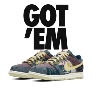 ナイキ(NIKE)のNIKE DUNK LOW COMMUNITY GARDEN LemonWash(スニーカー)