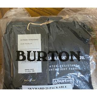 バートン(BURTON)の新品♪BURTON パッカブルバック(バッグパック/リュック)