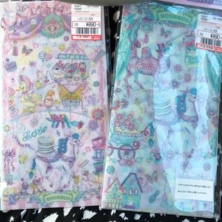 シマムラ(しまむら)のエコネコ 抗菌マスクケース 2枚セット(日用品/生活雑貨)
